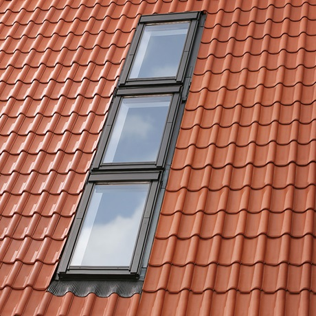 Multi-gootstukken voor vensters boven elkaar