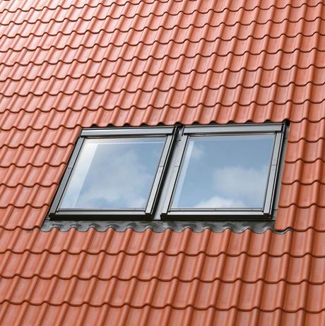 Multi-gootstukken voor 2 vensters naast elkaar