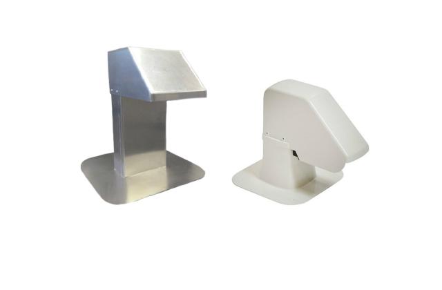 Leidingdoorvoer in aluminium of kunststof